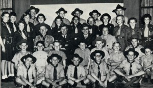 1st Paarl Scouts in 1955